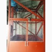 КЛЕТЬЕВОЙ шахтный грузовой электрический подъёмник г/п 1000 кг, 1 тонна. МОНТАЖ