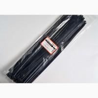 Хомут пластиковый 4, 8х350 черный, упаковка 100 ш