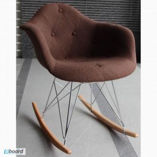 Кресла-качалки Пэрис Р шерсть для дома, дизайнерские кресла-качалки Paris R wool