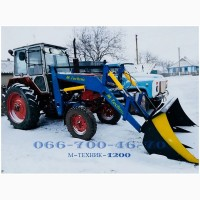 Фронтальный погрузчик M-Technic1200 на МТЗ, ЮМЗ, Т-40