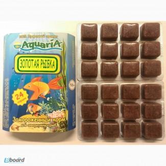 Замороженный корм для аквариумных рыб Золотая рыбка
