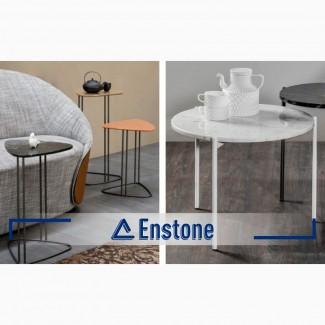 Журнальный столик (искусственный камень) на заказ. Столик из акрилового камня под заказ