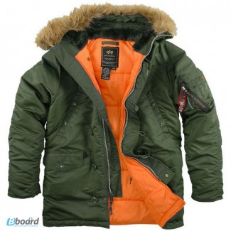 Официальный дилер Alpha Industries, USA продает оригинальные куртки Аляска в Кривом Роге