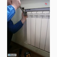 Установка, замена радиаторов отопления Киев