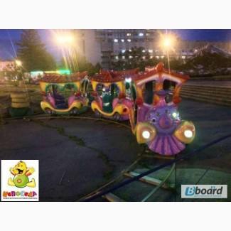 Аттракцион паровозик - Детская железная дорога
