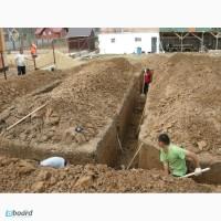 Ручная копка траншей, земляные работы вручную Киев, киевская область
