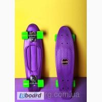 Скейтборд скейт Penny Board фиолетовый
