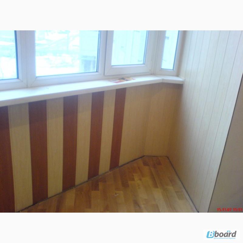 Уютный балкон: обшивка балкона мдф вагонкой (фото).
