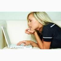 Несложная работа в интернете на своём пк для женщин