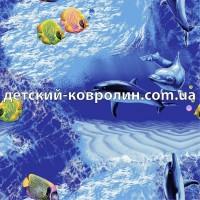 Ковровое покрытие Океан. Ковролин. Коврики в детскую