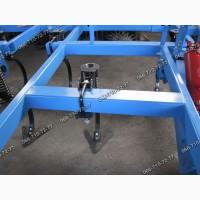 Мощная рама, четыре ряда лап, каток и пружина - культиватор КГШ-4 КГШ-8.4