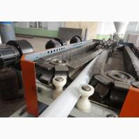 Экструзионная линия по производству одностенновой гофротрубы из ПП/ПЭ/ПВХ