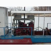 Земснаряд DRW-400 для очистки озера, пруда, добычи песка