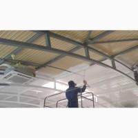 ПОКРАСКА Безвоздушная стен, потолков жилых и нежилых помещений