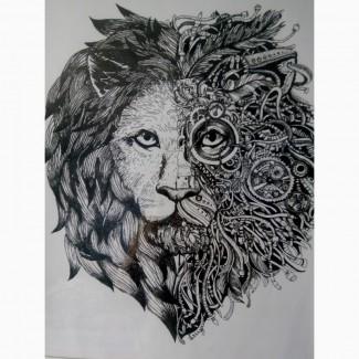 Картина Лев мудрец