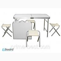 Набор мебели алюминиевый для пикника TO-8812F