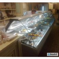 Продам холодильную витрину прилавок РОСС Sorrento 1, 29 м б/у в ресторан, кафе, общепит