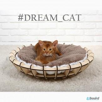 Лежанки для кошек и котов Блюдце