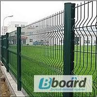 Заборы панельные (секционные) из сварной сетки