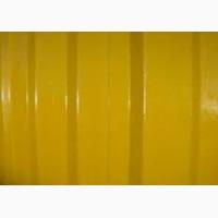 Желтый профнастил купить, металлопрофиль цена
