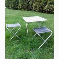 Стол складной + 2 стульчика комплект для пикника