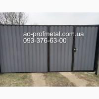 Металлопрфиль матовый серый графит РАЛ 7024, Профнастил RAL 7024 серый графит