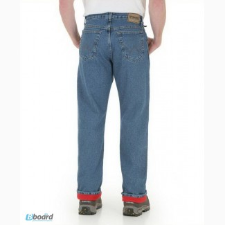 Зимние джинсы на теплой подкладке Wrangler Rugged Wear Thermal Jeans