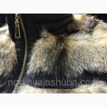 Жилет из натурального меха койота недорого