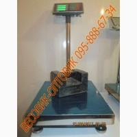 Платформенные весы Domotec TCS-B с усиленным индикатором 300кг 500х400мм