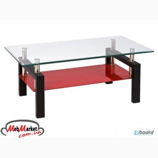 Журнальный столик Lisa II (черно-красный)