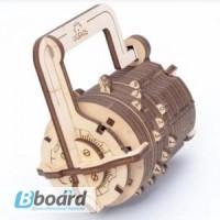 Механический-Деревянный 3D Конструктор - Кодовый замок