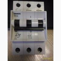 Выключатель автомат.3-п Siemens 6кА 5SX23 C 4A