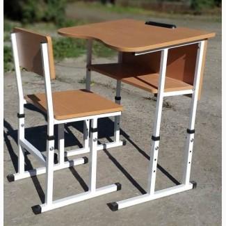 Парта учнівська, шкільні парти трансформери, комплект парта і стілець
