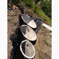 Копаем зливні вигрібні ями каналізація септік калуш долина