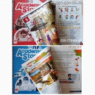 Продам Academy Stars 1 2 3 4 5 Pupilsbook + workbook