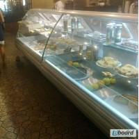Продам холодильную витрину прилавок РОСС Sorrento 1, 7 м б/у в ресторан, кафе, общепит