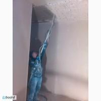 Штукатурим Стены и потолки Машинной штукатуркой
