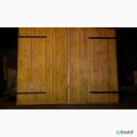 Ворота декоративные и деревянные