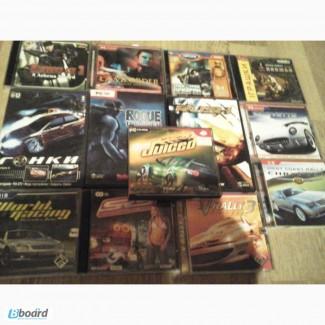 Компьютерные игры.CD и DVD б/у