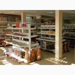 Торговое оборудование, стеллажи для магазинов посуды