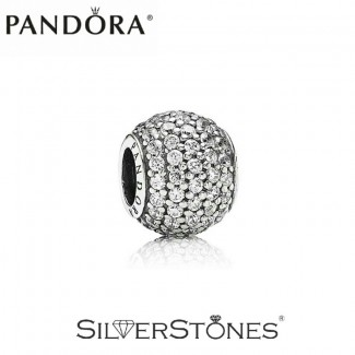 Скидки! Pandora Пандора шарм бусина Pave Паве арт. 791051CZ Оригинал