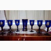 Набор бокалов Богемское стекло, Германия