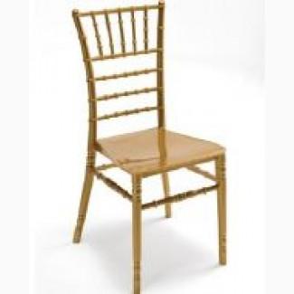 Золотой стул Чиавари для торжеств, штабилируемый