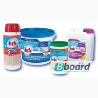 Химия для бассейна, уничтожение бактерий, вирусов, грибков