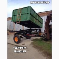 Тракторный прицеп 2ПТС-4 и запчасти к нему