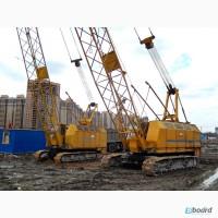 Аренда гусеничных кранов РДК г/п 25, 30, 40, 50т