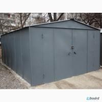 Металлический гараж стальной 1, 2 мм
