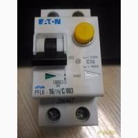 Дифференциальный автоматический выключатель PFL6-16/1N/C/003 EATON