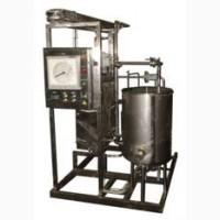 Пастеризационно-охладительная установка с электрокотлом 1000л/ч; 1500л/ч; 3000л/ч на раме