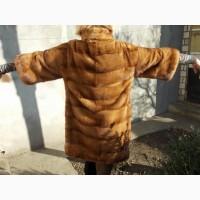 Шикарная норковая шуба, бренд Manakas, Одесса